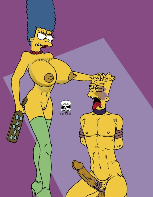 marge bart fear the imagefap and Rick and morty unity xxx