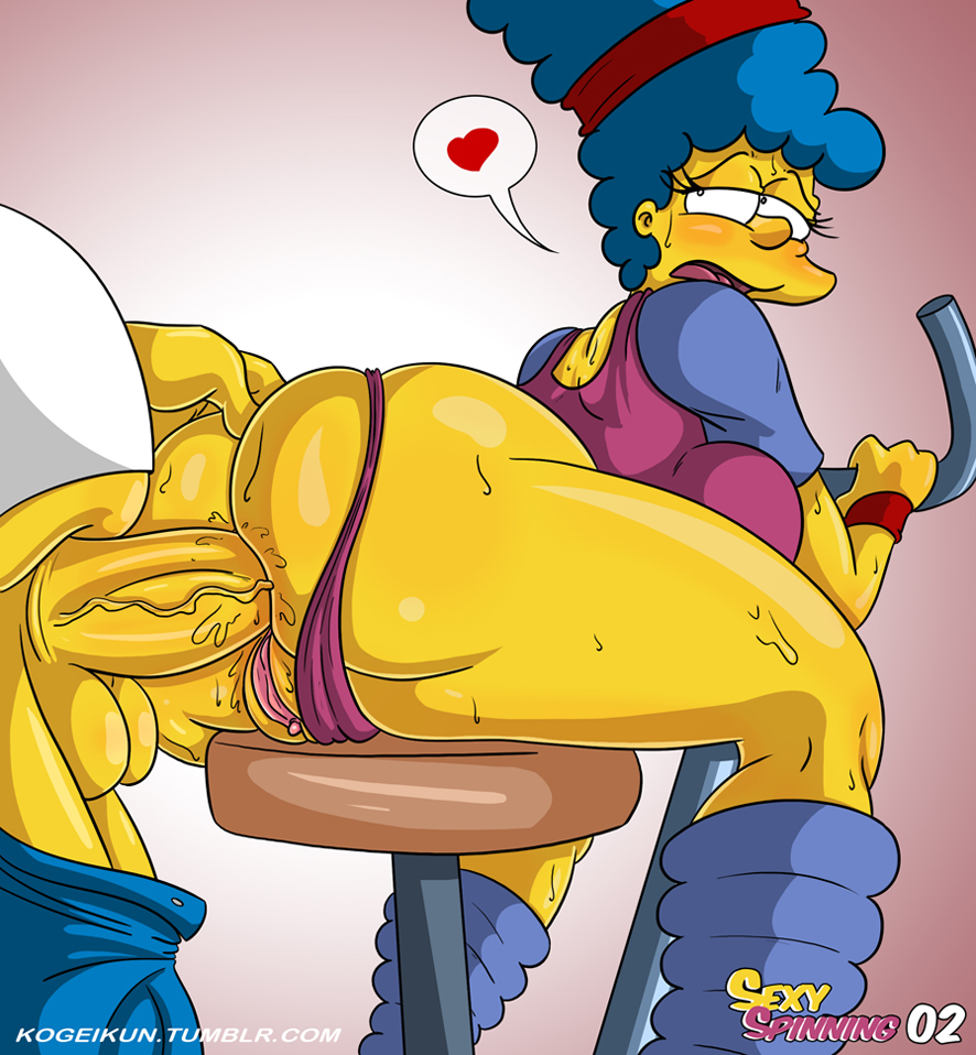 marge boobs simpson big with Spooky's house of jumpscares wolf girl