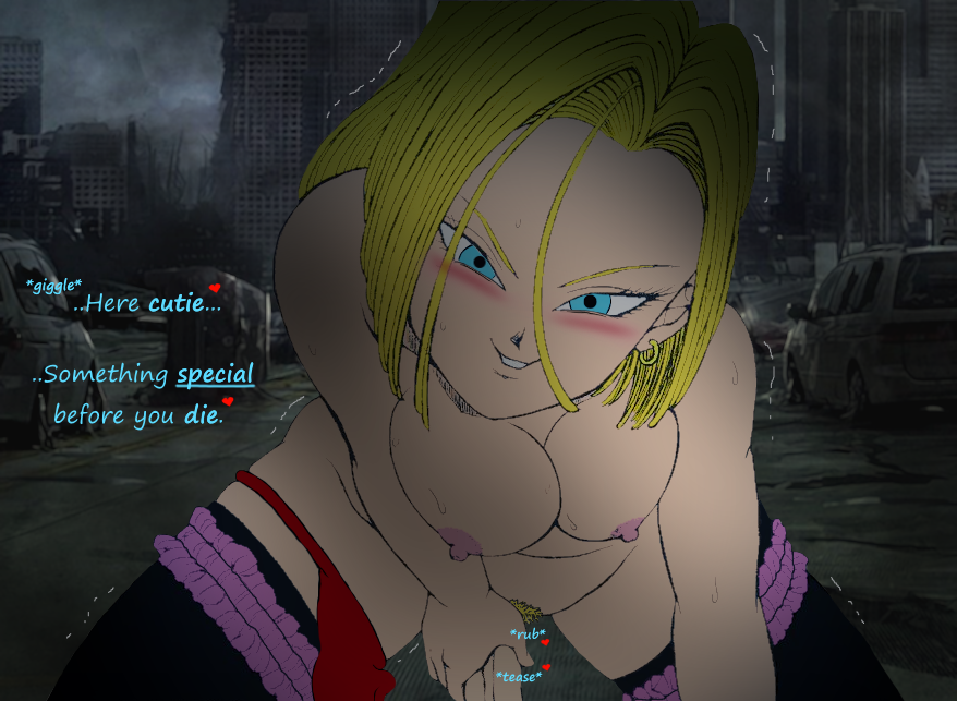 rampage of destruction android 18 Seikon-no-qwaser