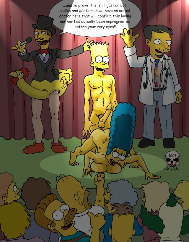 marge fear imagefap bart and the Mai king of fighters porn
