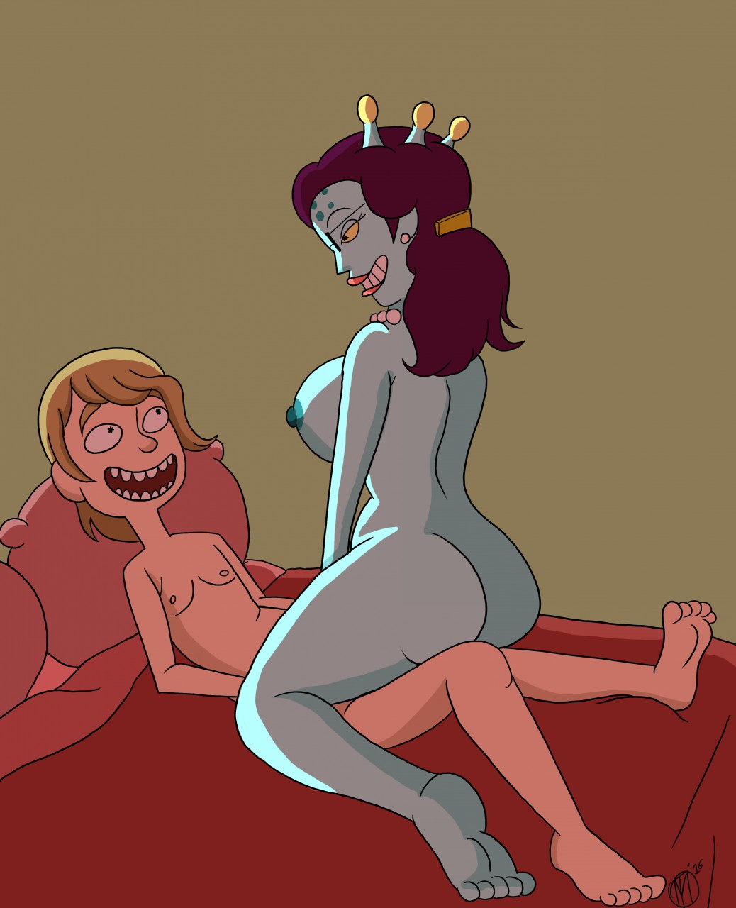 morty xxx rick and Shantae and the pirates curse hentai