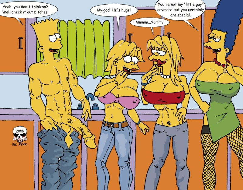 fear the and marge bart imagefap Pokemon lets go